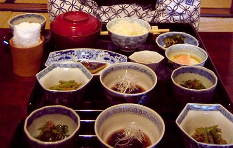 Nunoya breakfast